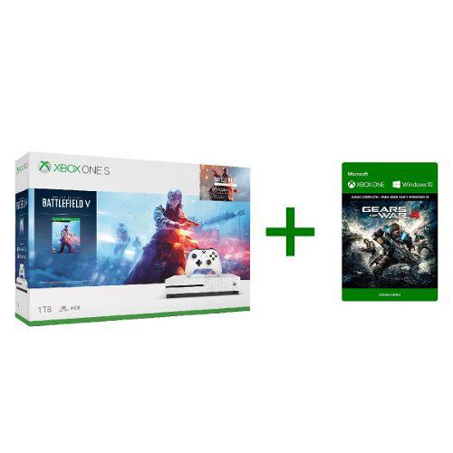 Consola Xbox One S 1tb Battlefield V + Gears Of War Gratis