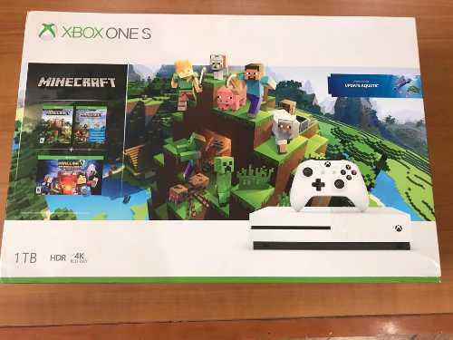 Consola Xbox One S 1tb/1 Control Bundle Minecraft