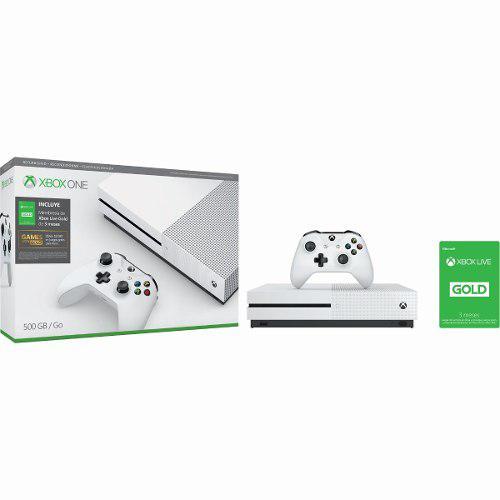 Consola Xbox One S 500gb Reconstruida + 3 Meses Xbox Live