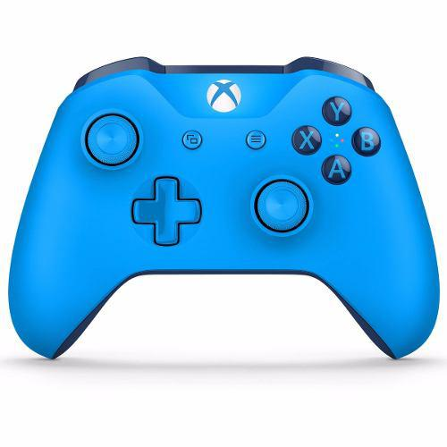 Control Inalambrico Azul Microsoft Xbox One