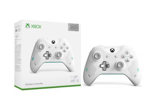 Control Inalambrico Sport White Xbox One Y Pc Original 3.5mm