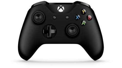Control Inalambrico Xbox One Microsoft Negro + Bateria Recar