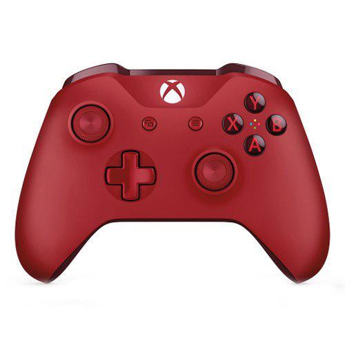 Control Para Xbox One Inalambrico Microsoft Wl3-00027 Rojo