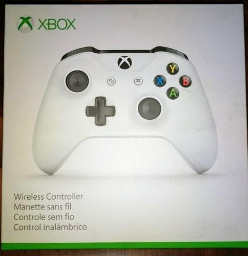 Control Xbox One Blanco Con Bluetooth Y Entrada 3.5