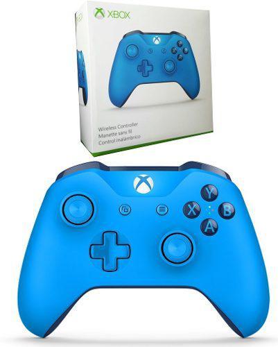 Control Xbox One Blue / Azul Bluetooth Sellado Msi !!