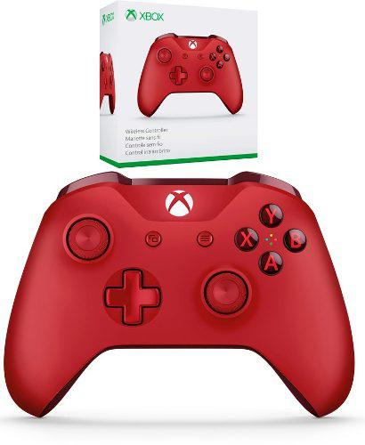 Control Xbox One Red Edition Bluetooth Original Sellado Mis