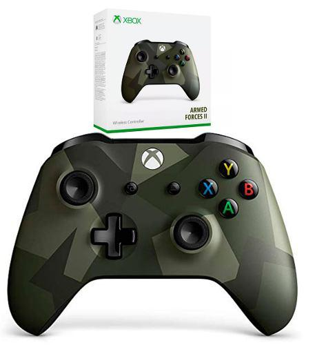 Control Xbox One S Armed Forces Edit Bluetooth Original Msi