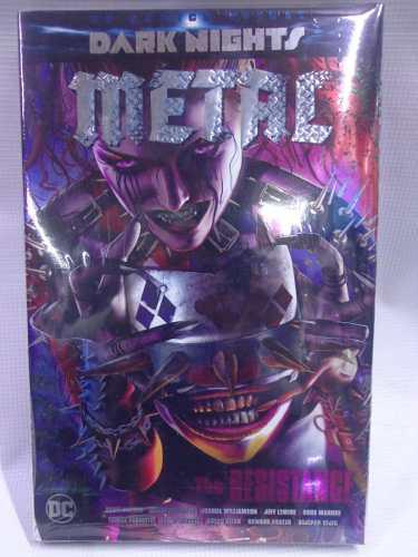 Dark Nights Metal Resistance Portada 1 Dc Deluxe Pasta Dura