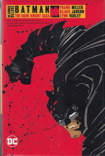 Dc Comic Deluxe Batman: The Dark Knight Returns And Again