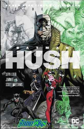 Dc Comics Batman Hush Deluxe Pasta Dura Harley Quinn Jim Lee