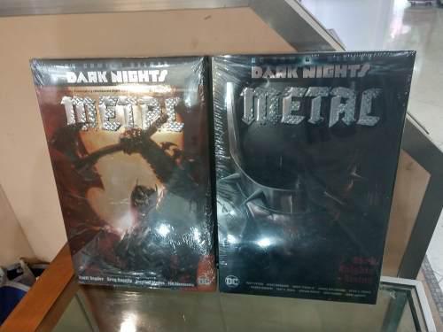 Dc Comics Deluxe The Dark Knight Metal Saga Completa