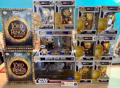 Funko Pop Caja The Lord Of The Rings (galadriel Y Gollum)