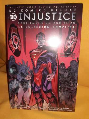 Injustice Año 5 - Dc Comics Deluxe