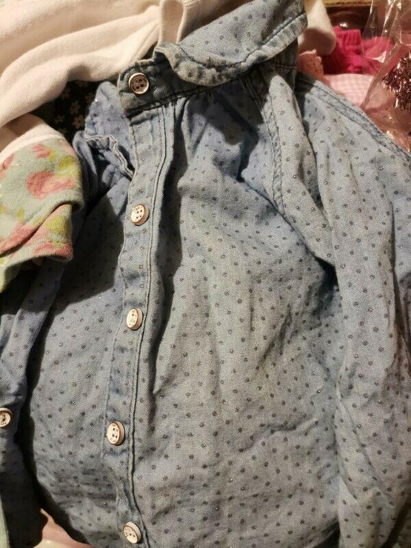 Lote de ropa para niña de 6 a 18 meses