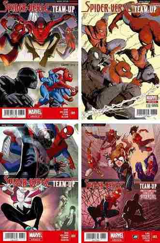 Marvel Comics Spider Verse Team Up 1 2 3 Spiderverse Gwen