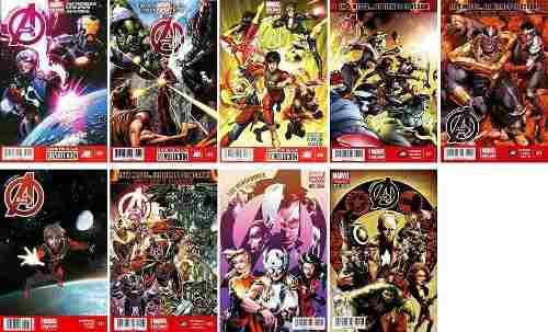 Marvel Comics The Avengers 4 5 6 21 22 23 25 27 Marvel Now