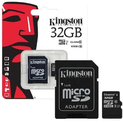 Memoria Micro Sd 32gb Kingston Clase 10 Mejor Precio.