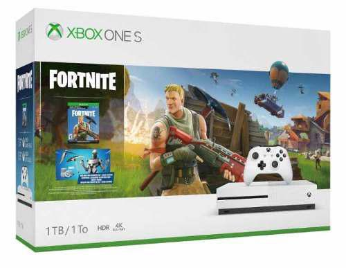 Microsoft Xbox One S 1tb Fortnite Battle Royale Sellado