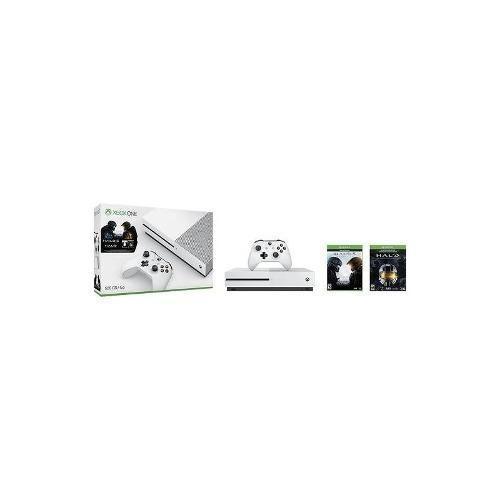 Microsoft - Xbox One S 500 Gb De La Consola De Halo Collecti