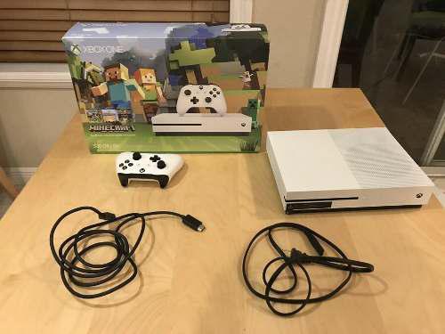 Microsoft Xbox One S Edición Minecraft 500gb