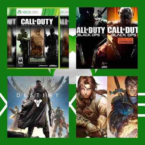 Pack's De Juegos Xbox 360 / One Oferta!!!