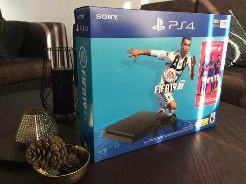 Playstation 4 Ps4 Slim 1tb Fifa 19 Oferta $5990.00