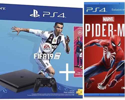 Ps4 De 1tb Con Fifa 19 Y Spiderman