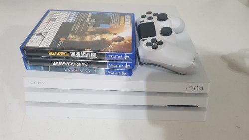 Ps4 Pro Con 3 Juegos