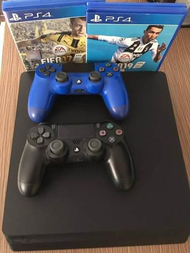 Ps4 Slim 500gb Seminuevo