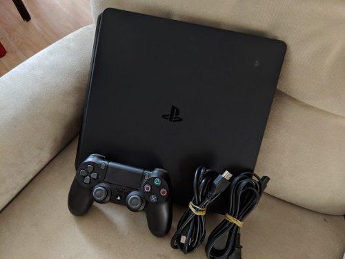 Remato Consola Ps4 Play 4 Slim 1tb 4 Juegos God Of War Last