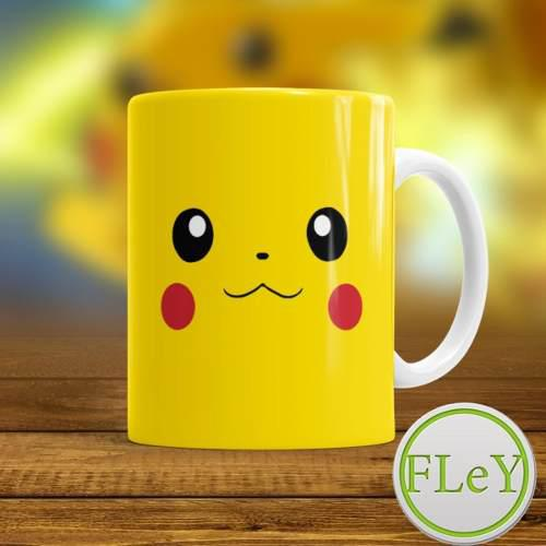 Taza Pokemon Pikachu Excelente Regalo Premium!