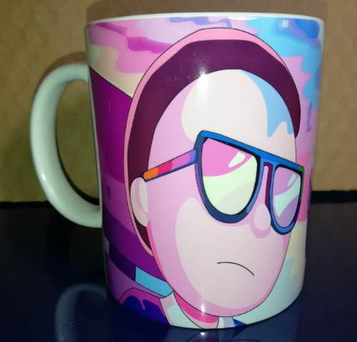 Taza Rick And Morty Color