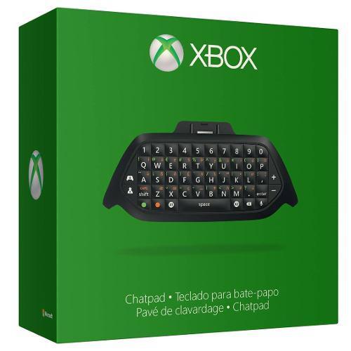 Teclado Y Diadema Para Control Xbox One - Microsoft Chatpad