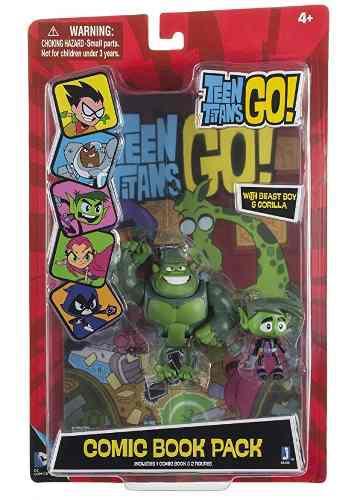Teen Titans Go Chico Bestia Del Cómic Paquete