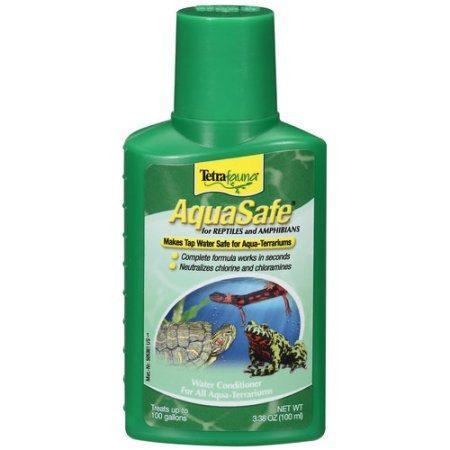 Tetrafauna Aquasafe Acondicionador De Agua Para Reptiles Y A