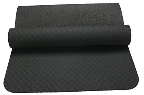 Tpe Mat Yoga 6 Grueso Con Correa De Transporte 100% De Láte