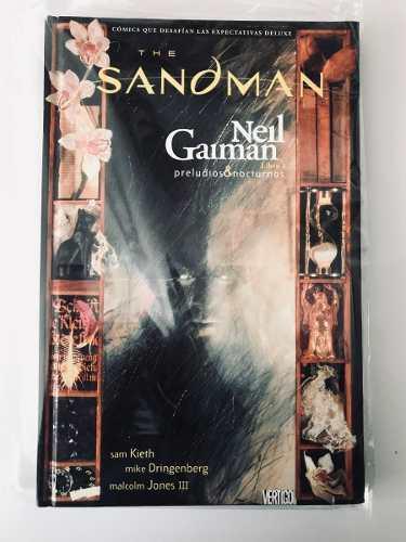 Vertigo Comics Deluxe The Sandman Libro 1 En Español
