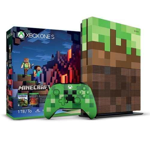 Xbox One S 1tb Edición Limitada Minecraft Nuevo