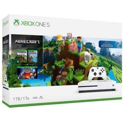 Xbox One S 1tb Edicion Minecraft Nuevo Sellado Envío Gratis
