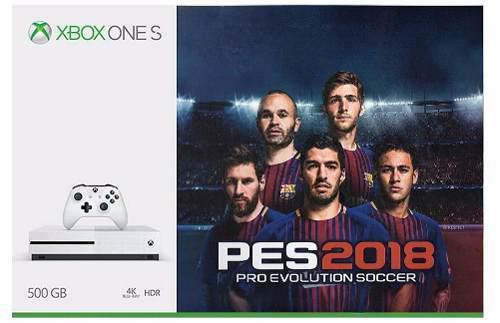 Xbox One S 500gb Con Pes2018 Nuevo