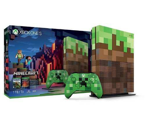 Xbox One S Minecraft | 1tb | Nueva Sellada | 4k Envío