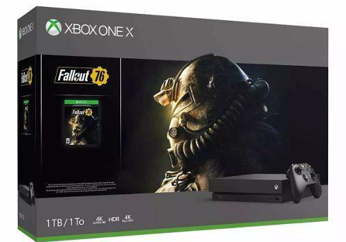 Xbox One X 1tb 4k Con Juego Fallout 76