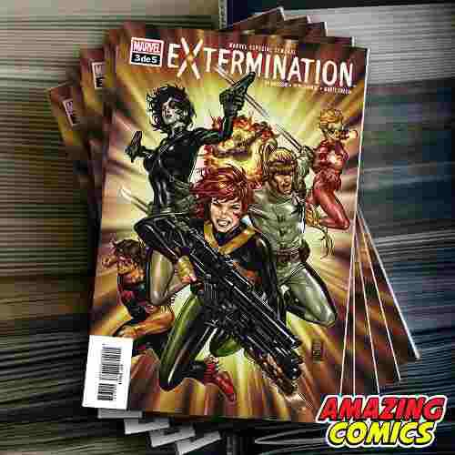 español] Extermination #3 X Men