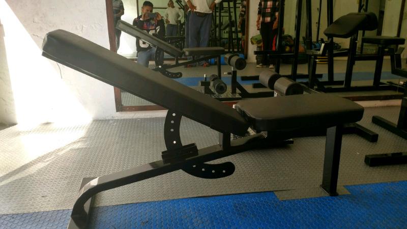 Banco Multiposiciones De Grado Cracken Gym Gimnasio