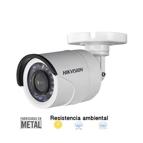 Cámara Hikvision Turbohd p Metal Ds-2ce16d0t-ir/w