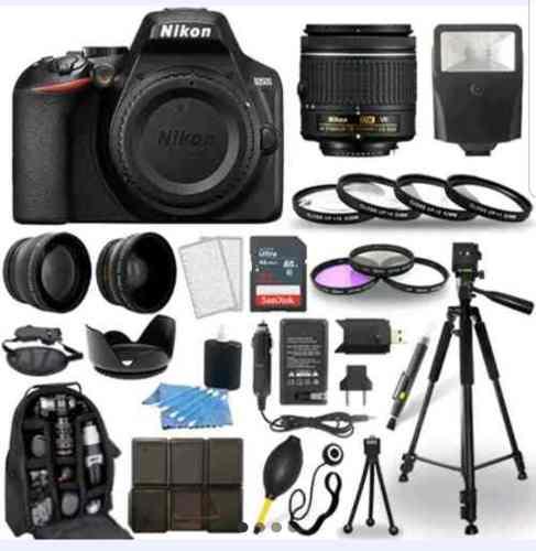 Cámara Nikon D No D Lente  Kit Platino