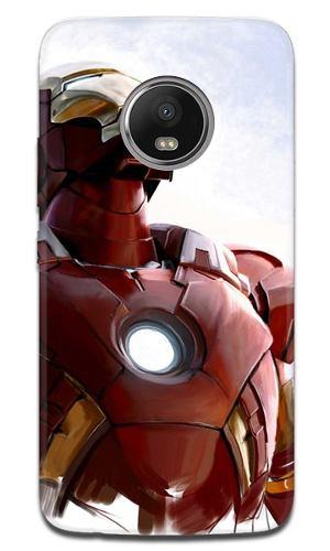 Funda Moto G6 E4 E5 Z2 Z3 Play Plus Iron Man 3