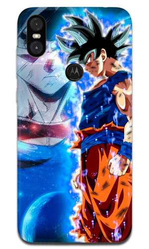 Funda Motorola One Dragon Ball Goku Instinto 2