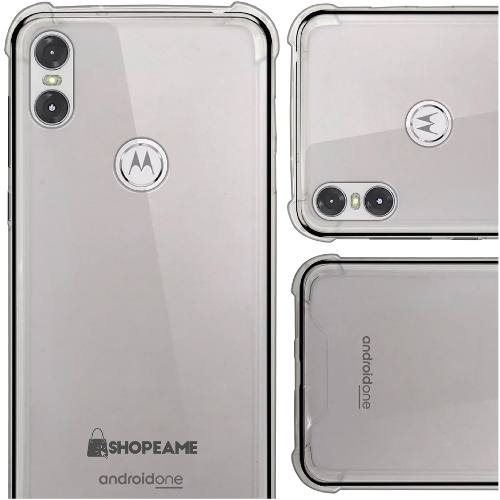 Funda Motorola One / P30 Play Protector Uso Rudo Transparent
