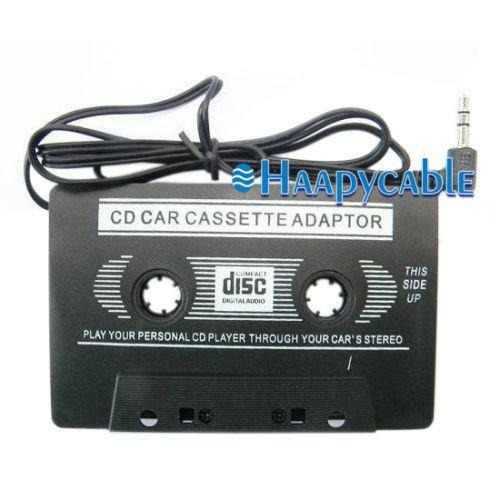 Nuevo Coche 3,5 Mm Aux Audio Adaptador Md Mp3 Mp4 Cd Ip-